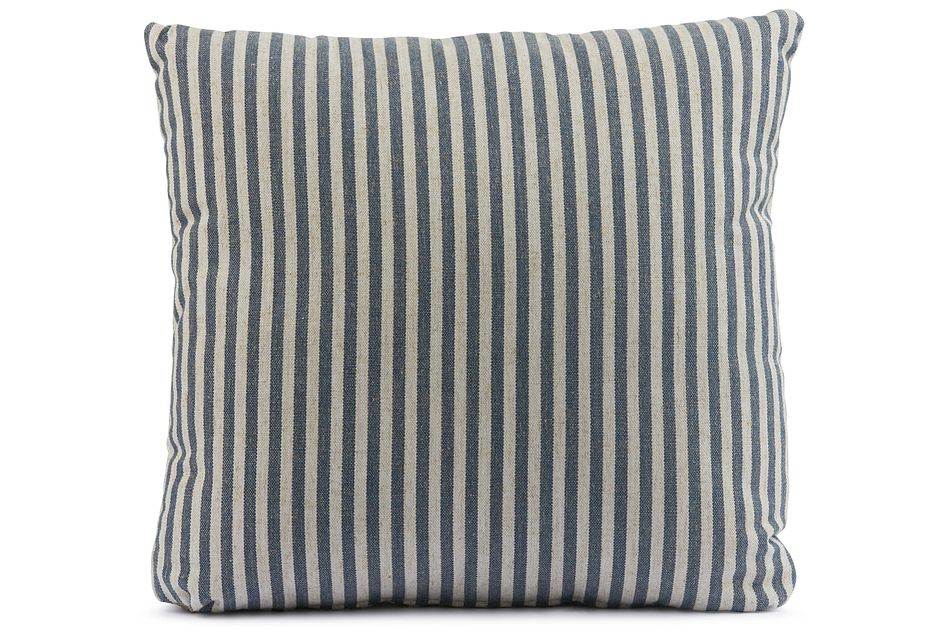"""Scout Dark Blue 18"""" Square Accent Pillow"""