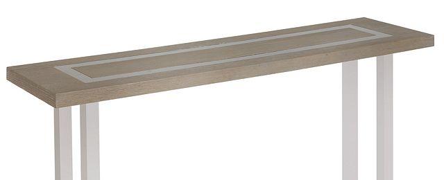 Berlin Light Tone Wood Sofa Table (2)