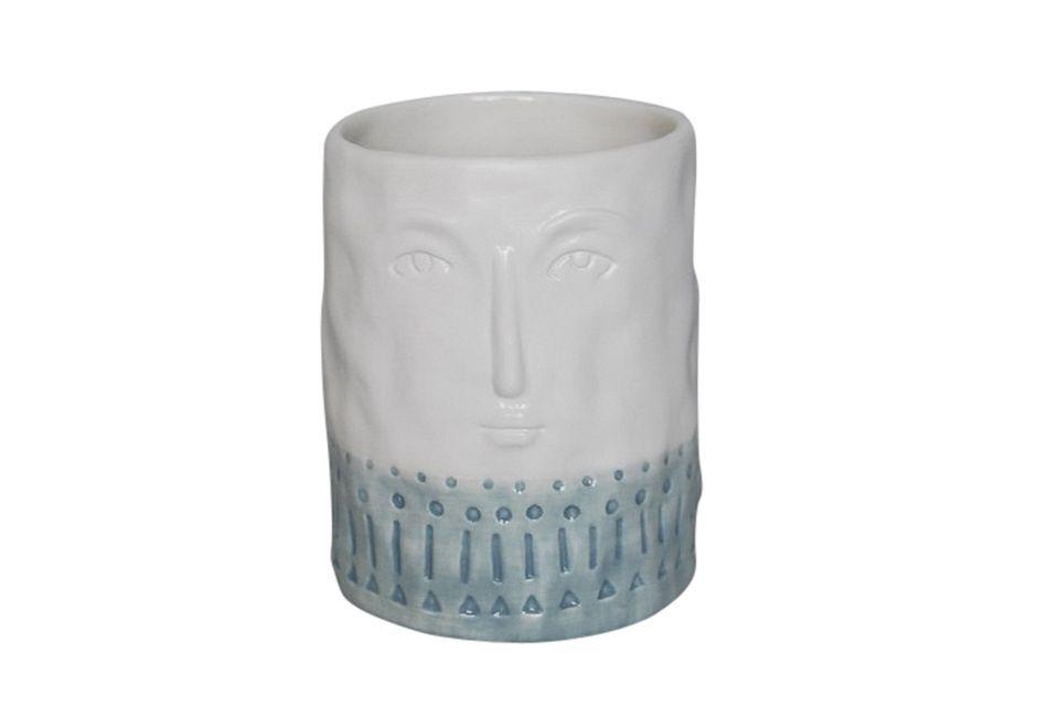 Face White Small Pot
