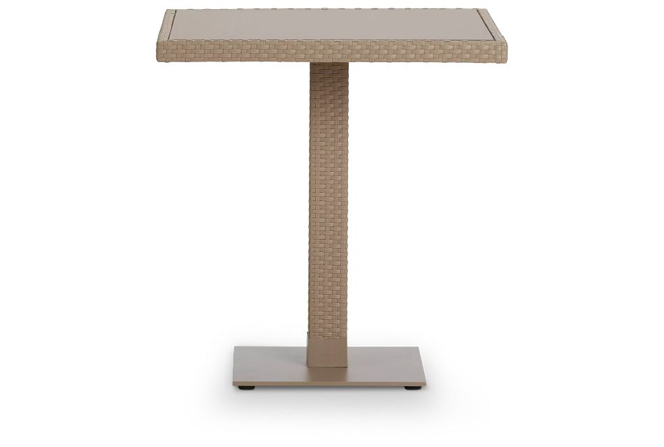 "Lisbon Khaki 27"" Square Table"
