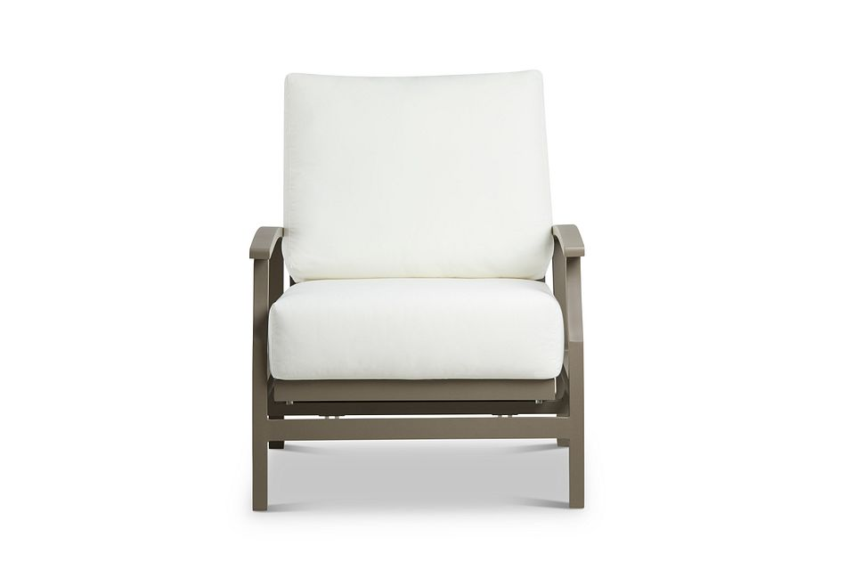 Raleigh White Rocking Chair