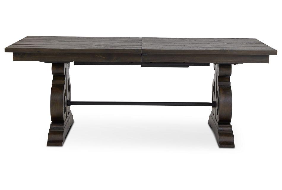 Sonoma Dark Tone Trestle Table,  (1)