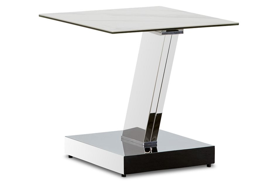 Holborn Ceramic Square End Table