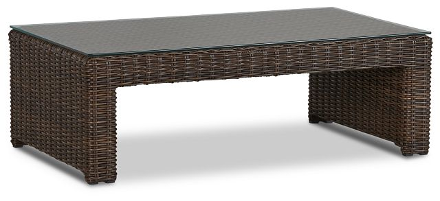 Southport Dark Brown Rect Coffee Table (1)