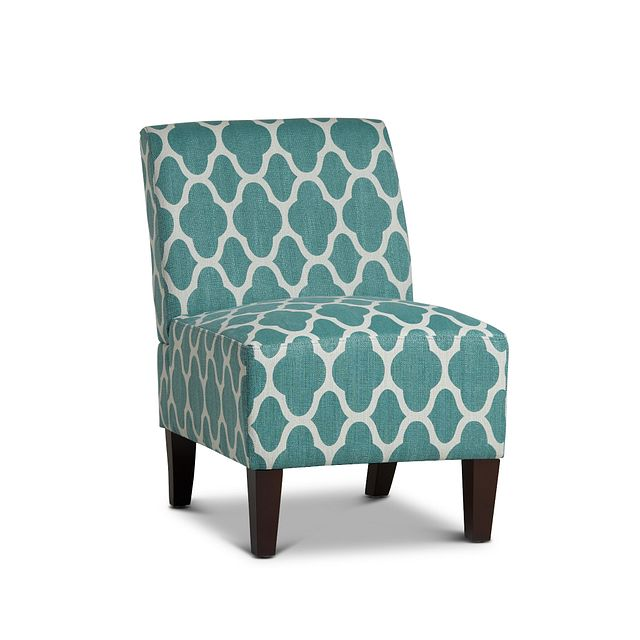 Comet Light Blue Fabric Accent Chair (0)