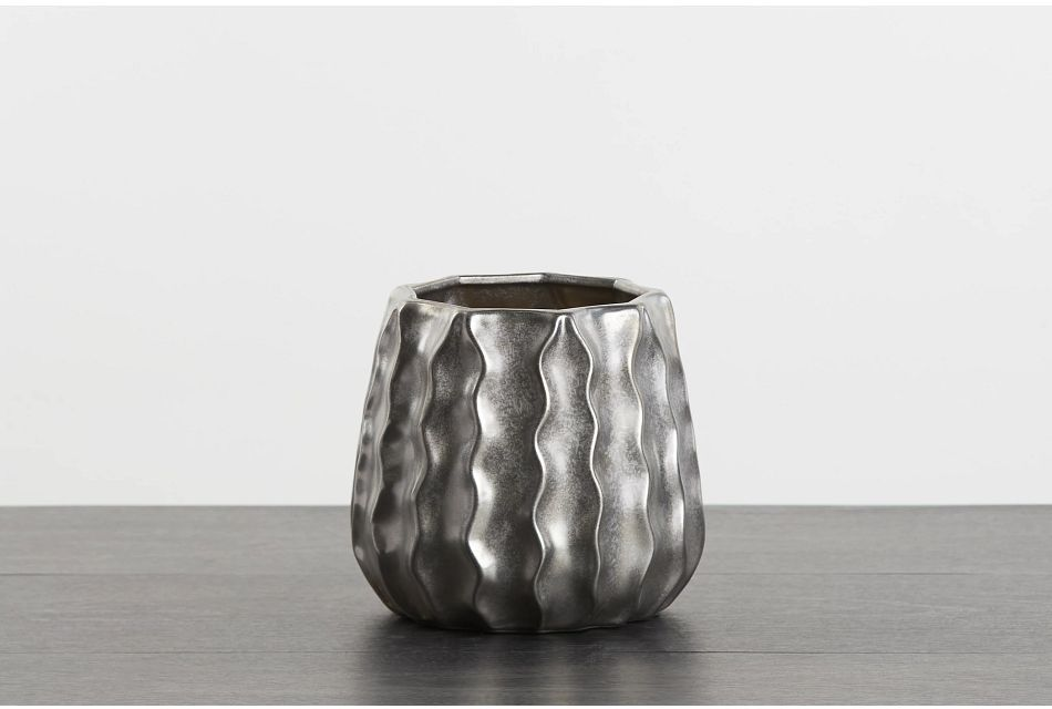 Lawrence Silver Vase