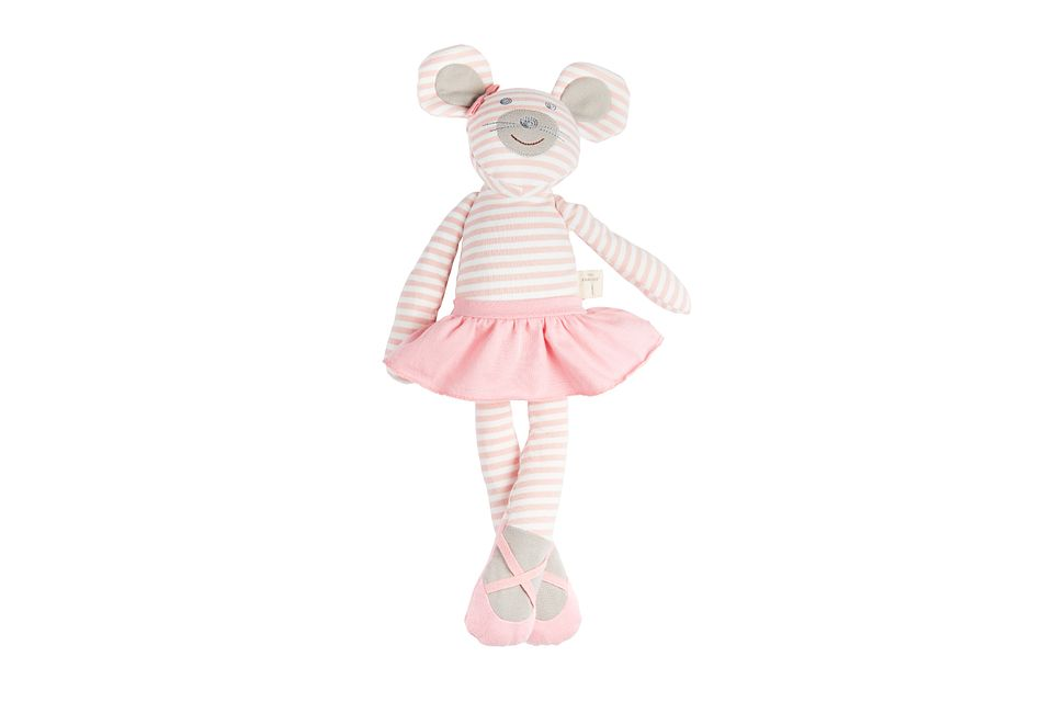 """Mouse Pink 18"""" Plush Toy"""