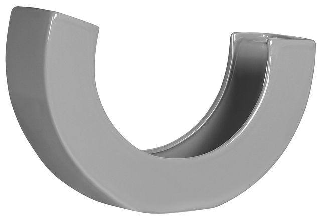 Teegan Gray Curved Vase (3)
