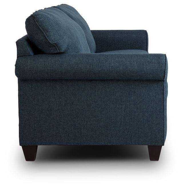 Cameron Blue Fabric Innerspring Sleeper (3)