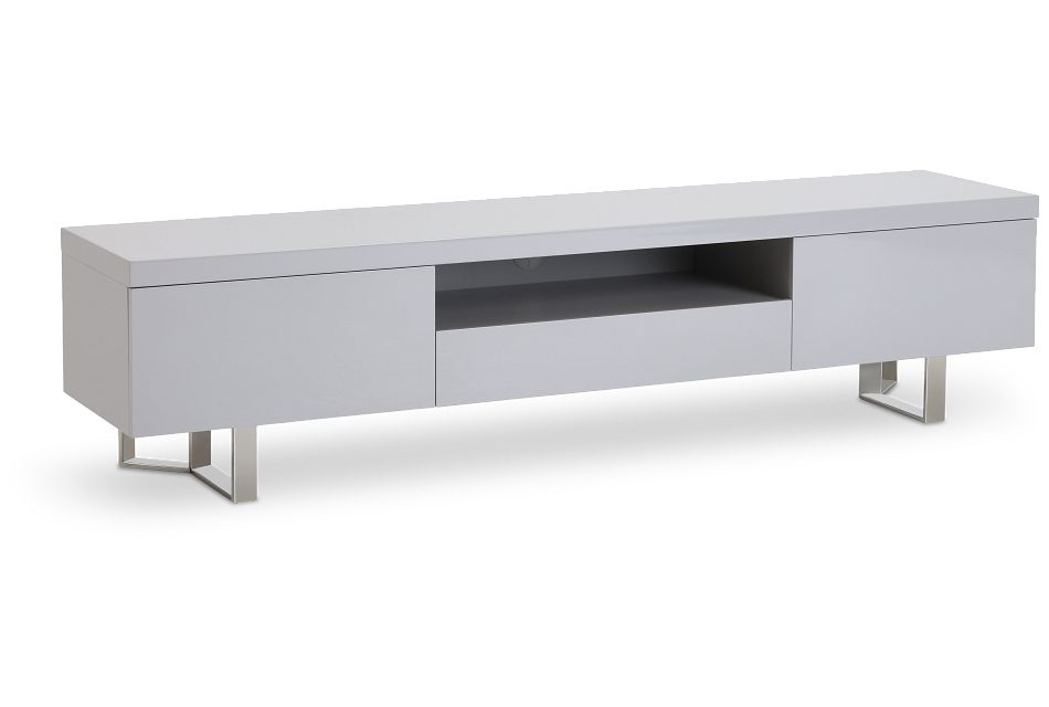"""Axel Gray 78"""" Tv Stand,  (2)"""