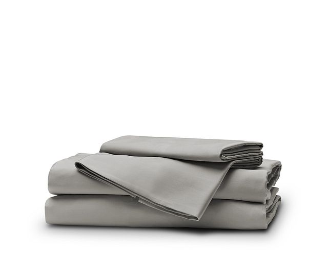 Egyptian Cotton Gray 400 Thread Sheet Set (1)