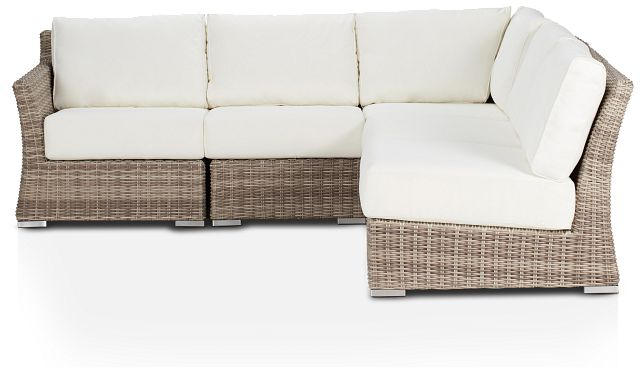 Raleigh White Left 5-piece Modular Sectional (0)