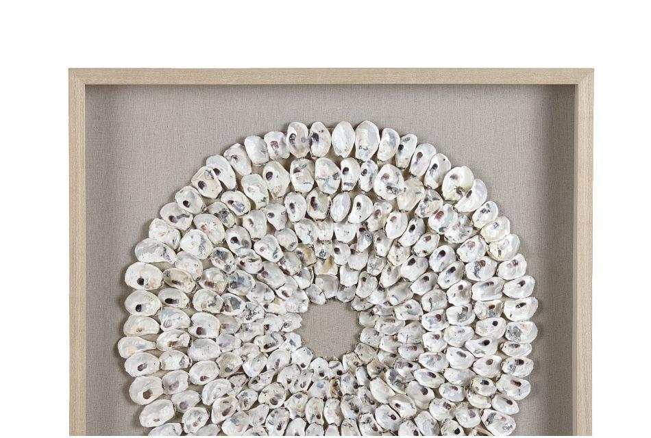 Sierra White Framed Wall Art,  (1)