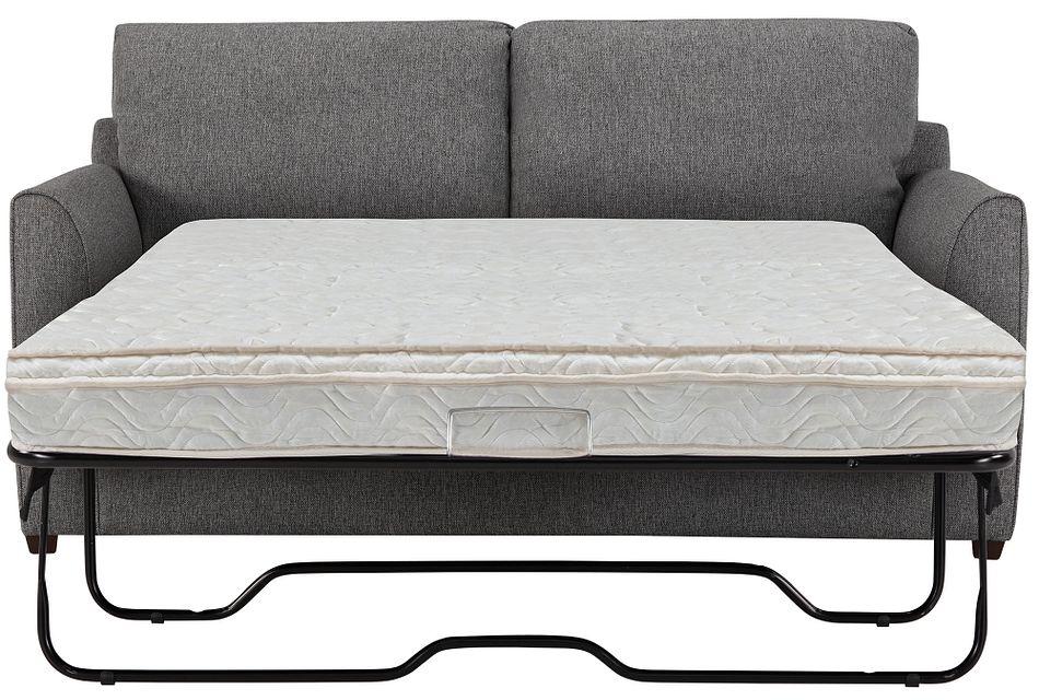 Asheville Gray Fabric Innerspring Sleeper, Full (0)