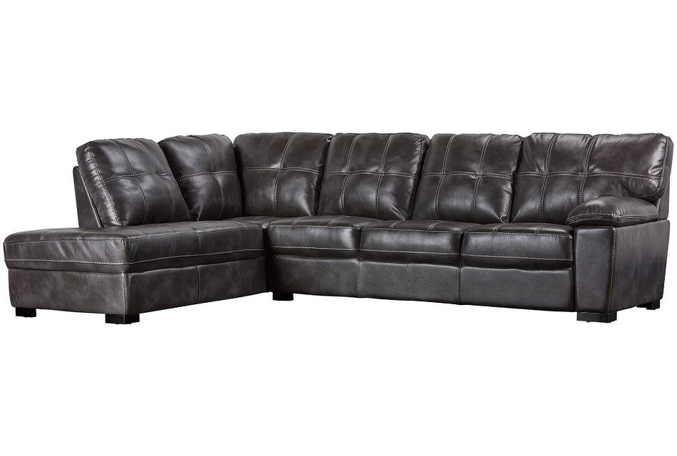 Henry Gray Micro Left Bumper Sectional