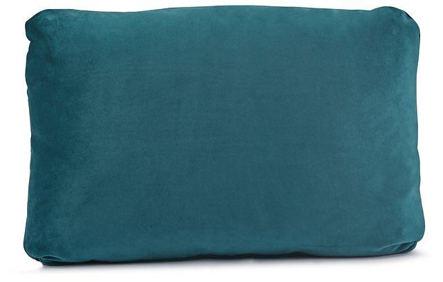 Royale Dark Teal Lumbar Square Accent Pillow (0)
