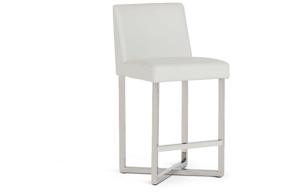 """Howard White 24"""" Upholstered Barstool,  (1)"""