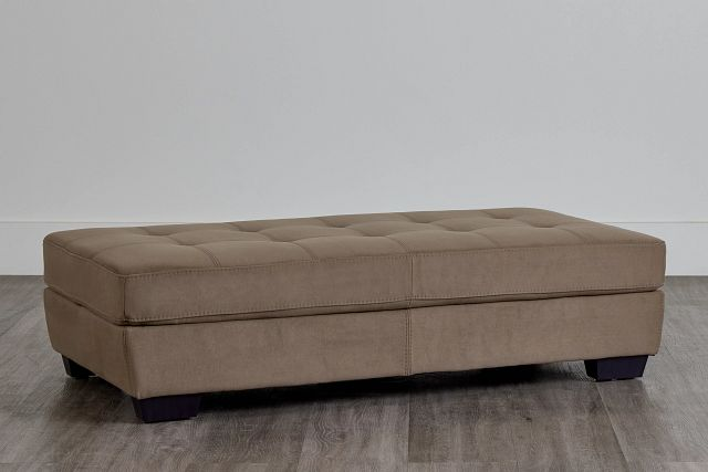 Perry Dark Taupe Micro Cocktail Ottoman (0)