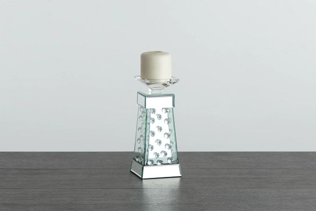 Averie Silver Small Candle Holder (0)