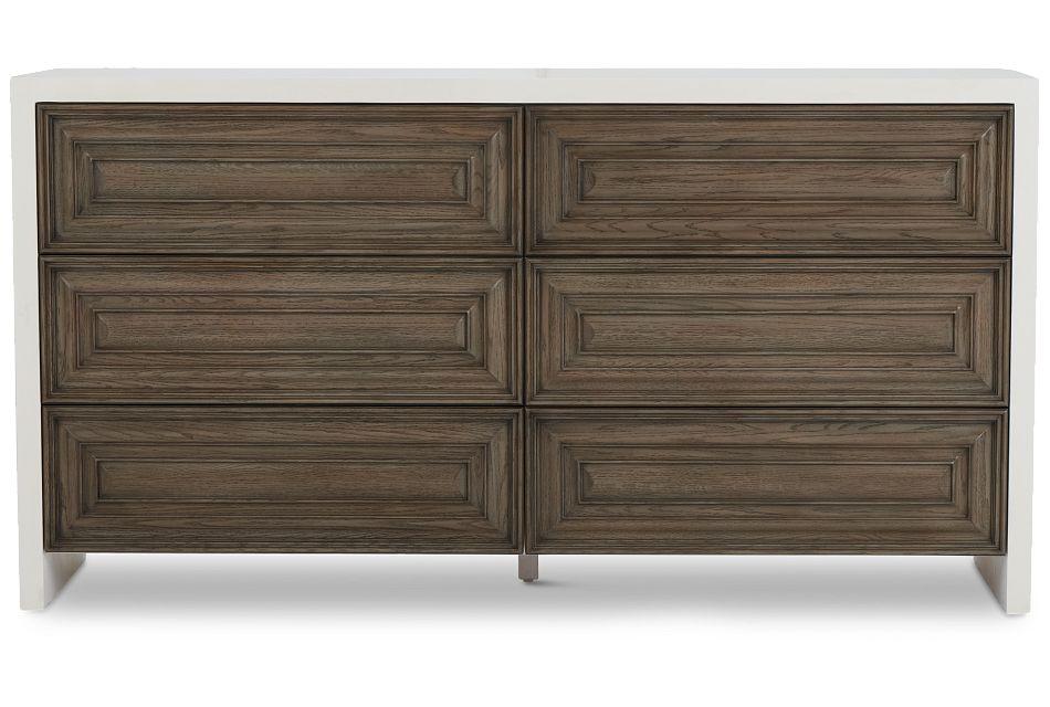 Goodman Light Tone Wood Dresser,  (1)
