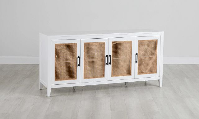 Nantucket Two-tone Woven Tv Stand