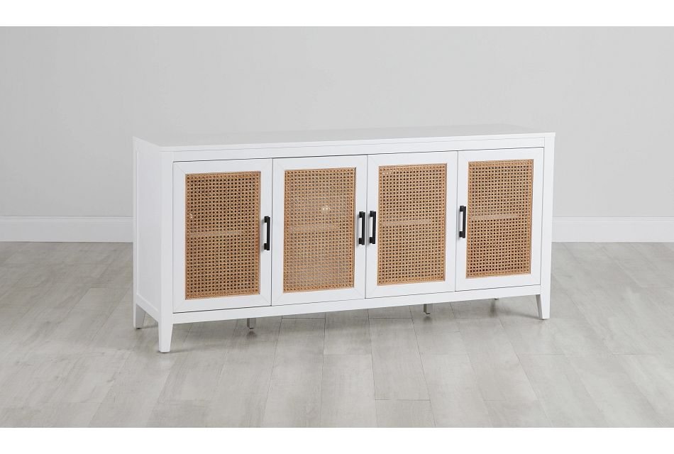 Nantucket Two-Tone Woven Tv Stand,  (0)