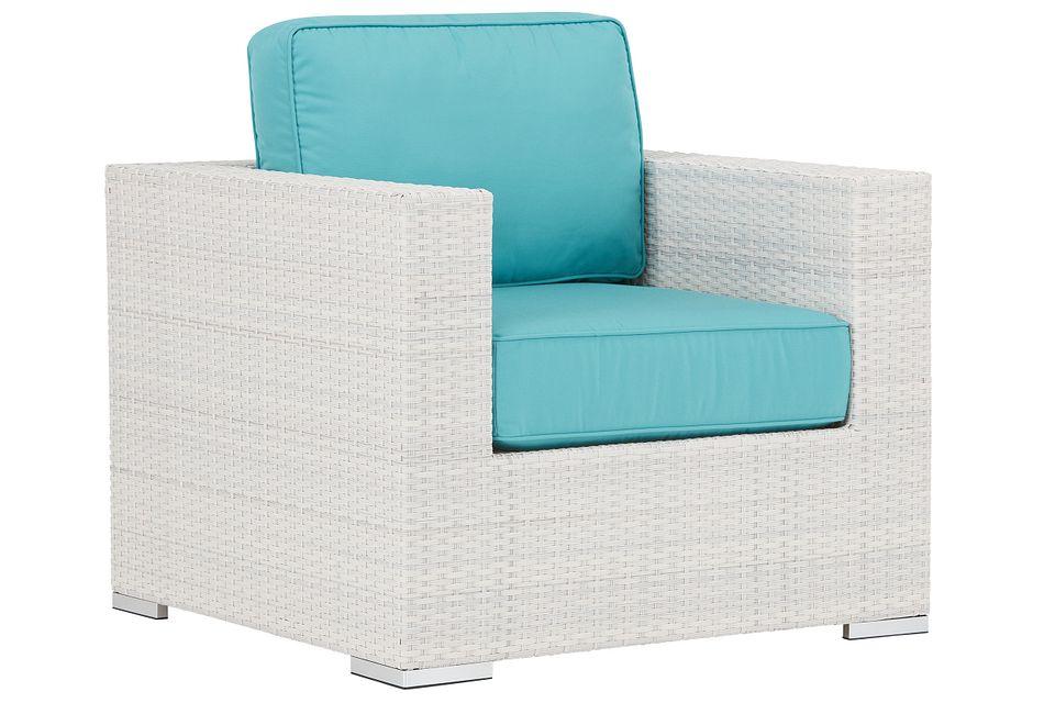 Biscayne Dark Teal Chair