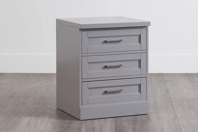 Newport Gray Drawer Cabinet (0)
