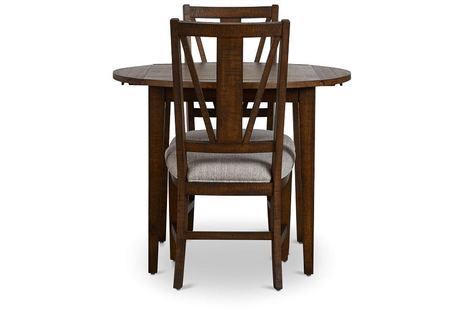"Heron Cove Mid Tone 38"" Table & 2 Chairs,  (2)"