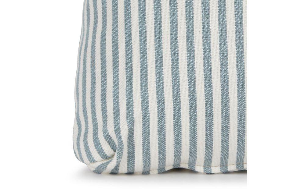 Longboard Blue Lumbar Accent Pillow,  (1)