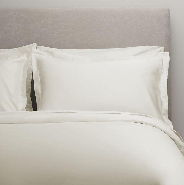 Egyptian Cotton White 400 Thread Duvet Set (0)
