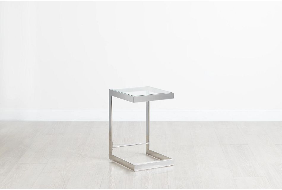 Miami Glass C-side Table