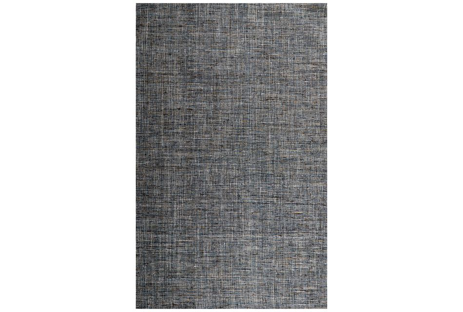 Heston Blue 5x8 Area Rug