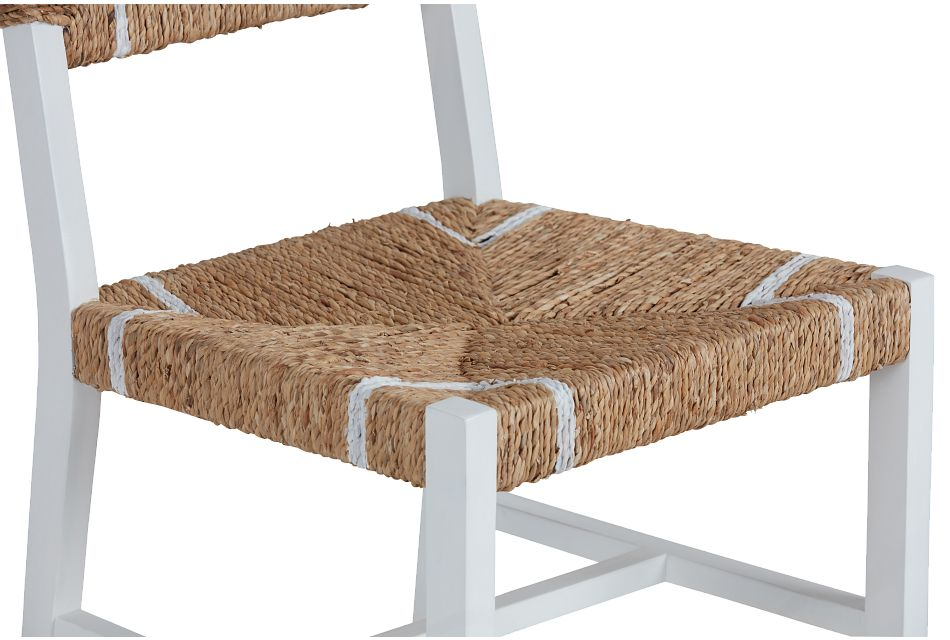 Nantucket Light Tone Woven Side Chair