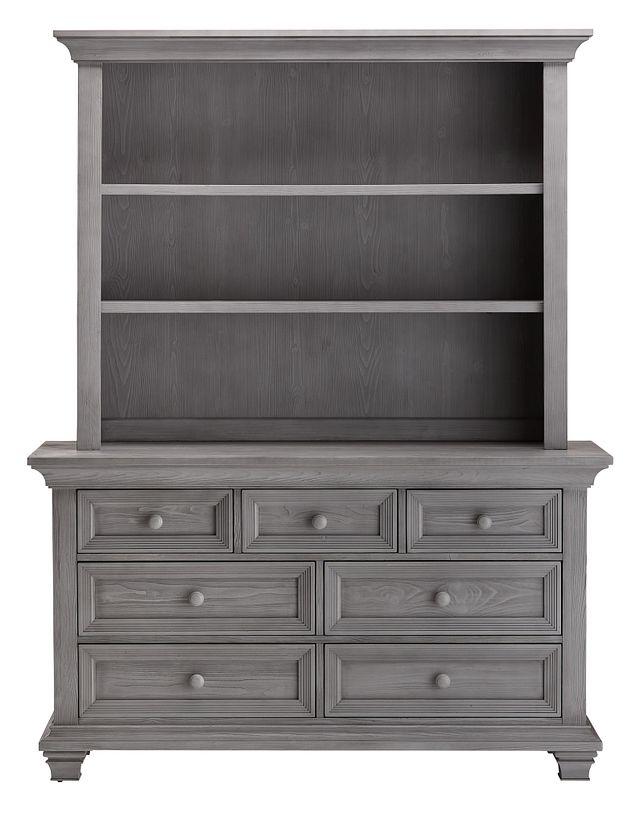 Westport Light Gray Dresser & Hutch (0)