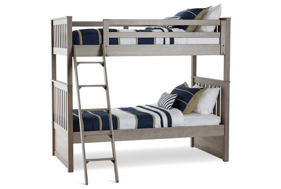 Rivercreek Gray Wood Bunk Bed