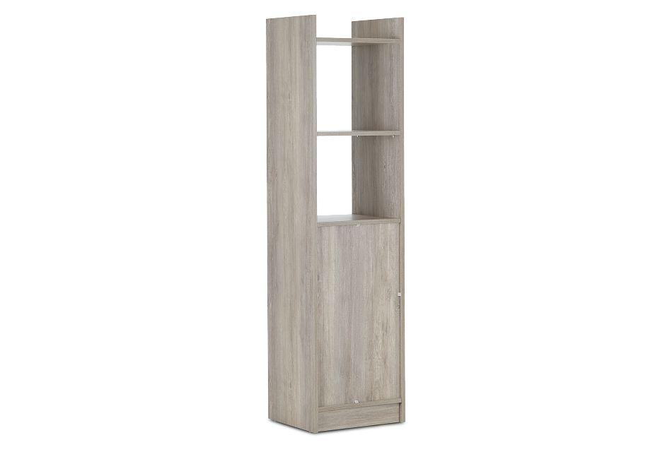 Delray Light Tone Open Bookcase