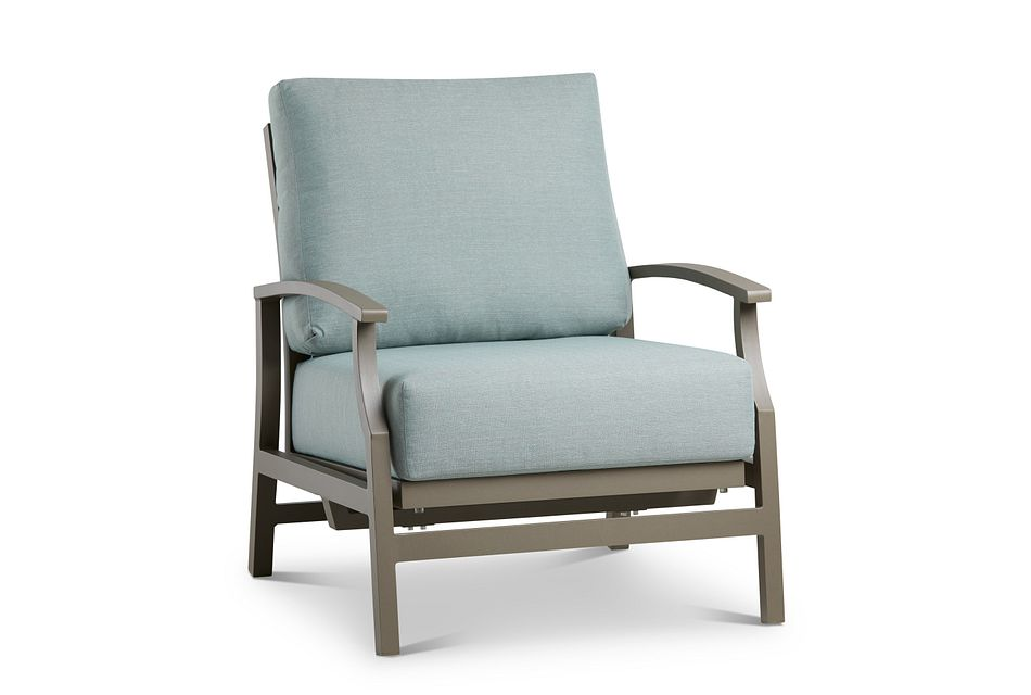 Raleigh Teal Rocking Chair,  (0)