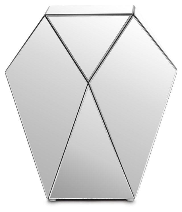 Geo Silver Medium Accent Table (0)
