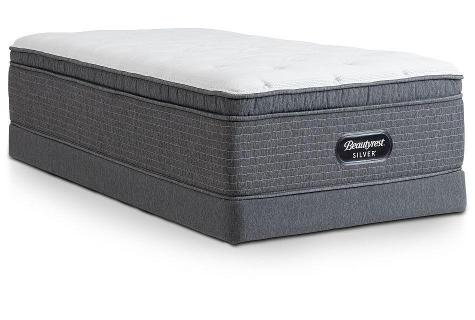 Ferndale Plush Pillow Top Low-Profile Mattress Set, Twin (0)
