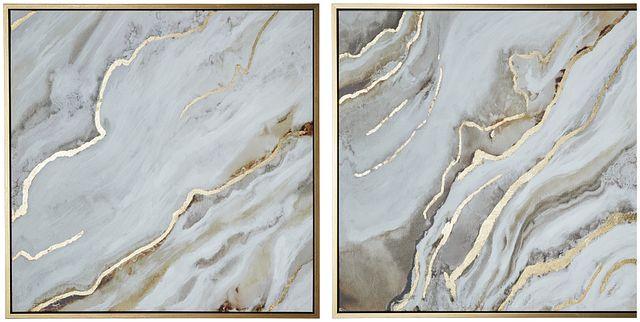 Corian Silver Set Of 2 Framed Wall Art (0)