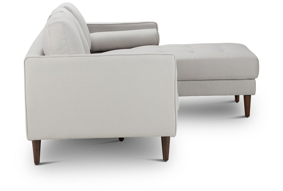 Rue Light Beige FABRIC Right Chaise Sectional,  (3)