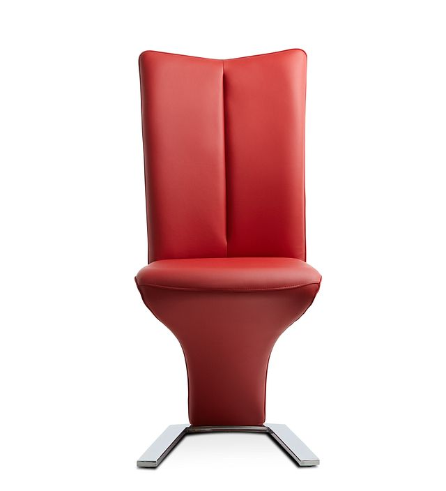 Catalina Red Upholstered Side Chair (2)