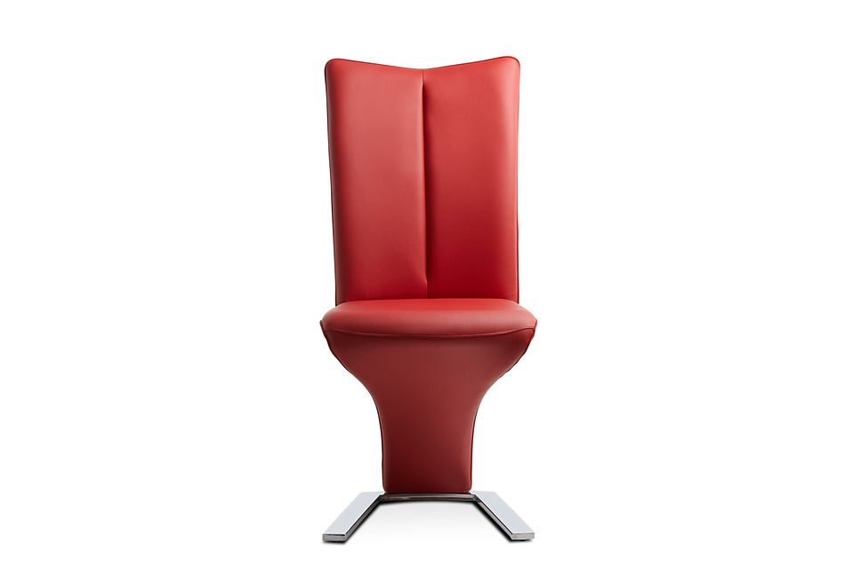 Catalina Red Upholstered Side Chair