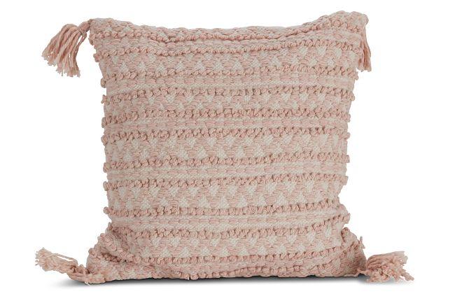 """Ashea Light Pink 22"""" Accent Pillow"""