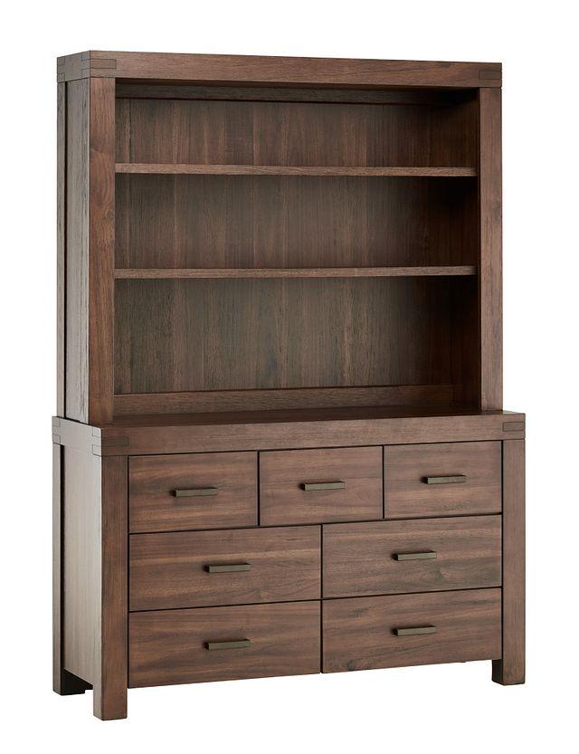 Piermont Mid Tone Dresser & Hutch (1)