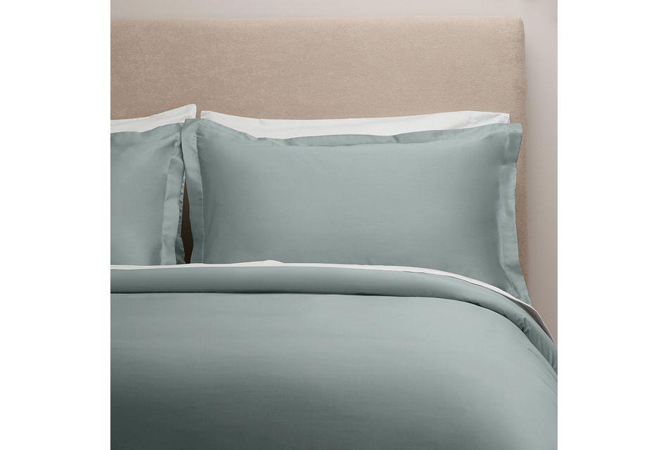 Egyptian Cotton Blue 400 Thread Duvet Set
