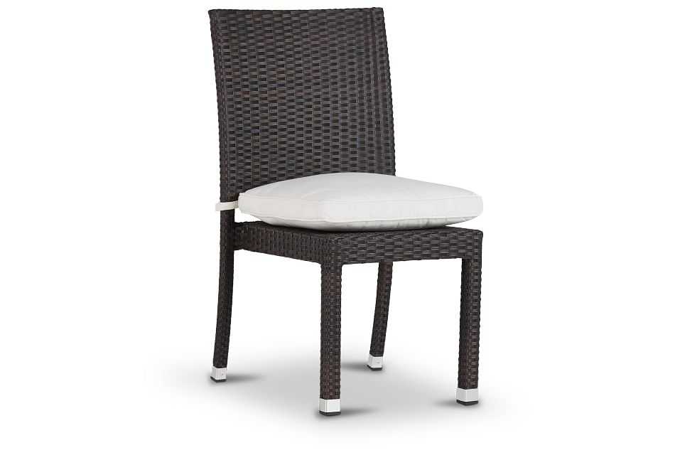 Zen White Side Chair