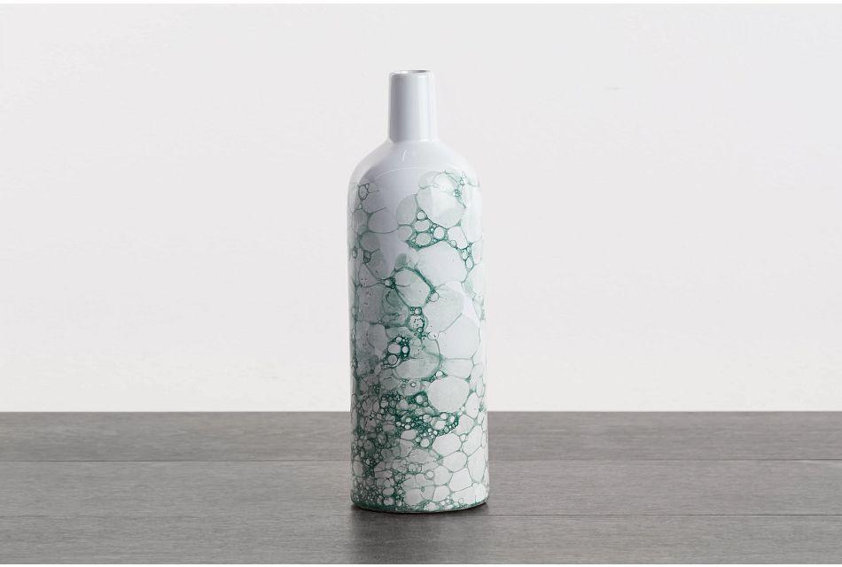Cassidy Large Green Vase