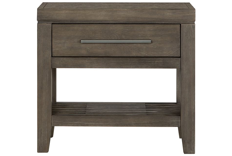 Bravo Dark Tone 1-drawer Nightstand